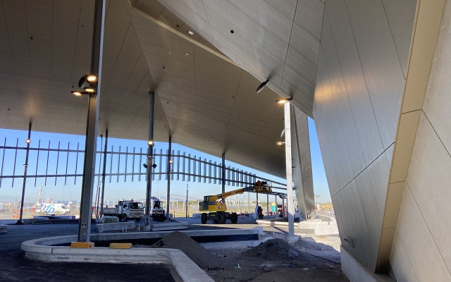 Brisbane International Cruise Terminal entering final stages of construction