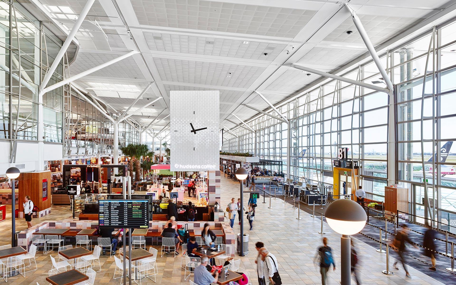 Brisbane International Airport Retail Upgrade - Arkhefield